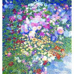 Luigi Bonazza - Flower garden