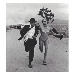 Peter Lindbergh - Wanted - Beri Smither and Fred Ward - Harper s Bazaar Jun 1993