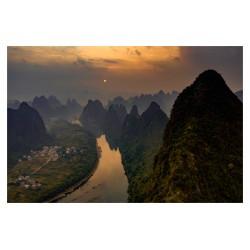 Julia Wimmerlin - Sunrise at Xianggong Hill