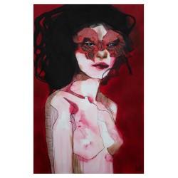 Anna Matykiewicz - Mask_pa_nude_red