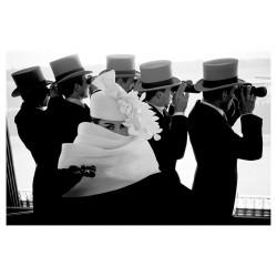 Frank Horvat - Givenchy Hat C for Jardins des Modes...