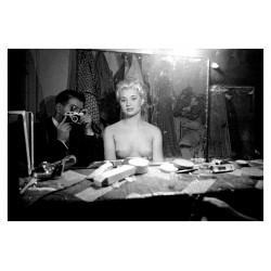 Frank Horvat - Le Sphinx club - Pigalle Paris 1956