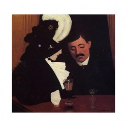 Felix Vallotton - At the cafe - 1909