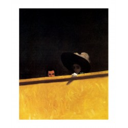 Felix Vallotton - Box Seats at the Theatre - the Gentleman and the Lady - 1909_pa_pmas_clas