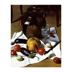 Felix Vallotton - Still Life with Large Earthenware Jug