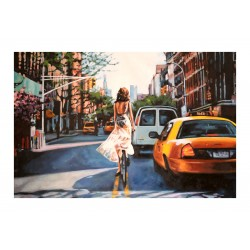 Thomas Saliot - NYC bike and car_pa_stre