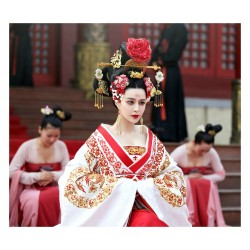 Anonym - Ancient Chinese Tang Imperial Palace Wu Zetian Female Emperor Clothing_ph