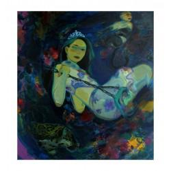 Christina Liu - Faire fleurir une fleur etrange_pa