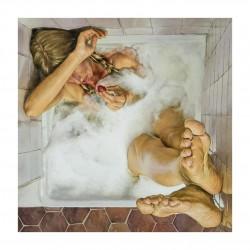 Ferdinand Boutard - La baigneuse a la fraise