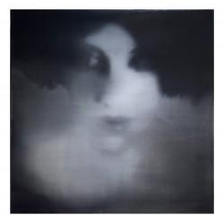 Jacqueline Devreux - autoportrait_ph_bw