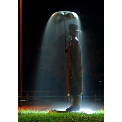 Jean Michel Folon - Rainman sculpture_sc_scul_dark