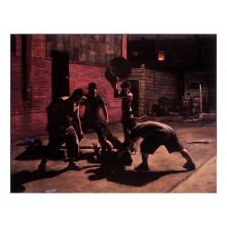 Tony Shore - acrylic on velvet