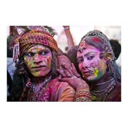 Marc Seiler - Holi Fest 3 - India 1991_ph