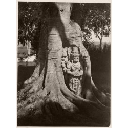 Isidore van Kinsbergen - Statue of deity with characteristics of Harihara - 1860-70_ph_bw_repo_vint