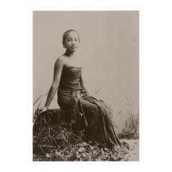 Kassian Cephas - Javanese woman - circa 1900