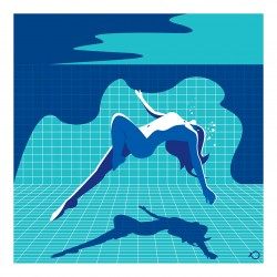 Kostis Pavlou - Nude underwater
