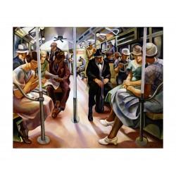 Lily Furedi - Subway - 1934