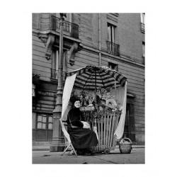 Izis Bidermanas - Fleuriste Paris_ph_vint_bw