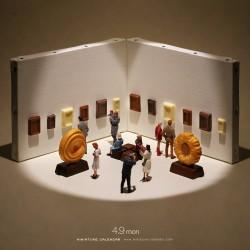 Tatsuya Tanaka - Miniature calendar 02_au_funn