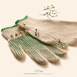 Tatsuya Tanaka - Miniature calendar 03_au_funn