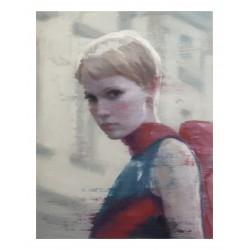 Vincent Xeus - portrait Mia Farrow