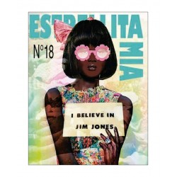 Ilaria Novelli - My Jonestown girl on the cover of Estrellita Mia zine_di_anti