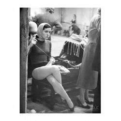 Kees Scherer - Dancer - Paris 1950_ph_vint_bw