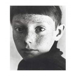 Heinrich Riebesehl - Uwe from the series Gesichter - 1967-69_ph_bw_vint