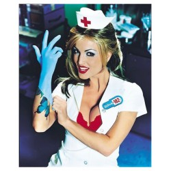 David Goldman - model Janine Lindemulder for rock band Blink 182 album Enema of the state - 1999_ph_davidgoldmanphoto.com