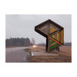 Christopher Herwig - bus stop serie - Estonia Kootsi -...