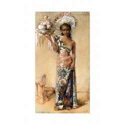 Willem Gerard Hofker - portrait - Bali 1938