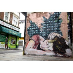 JANA & JS - street art London England -