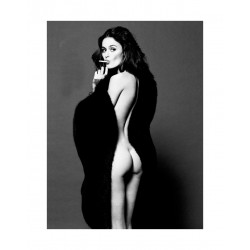Nicole Trunfio - for Lovecat Magazine_ph_topm_bw_nude