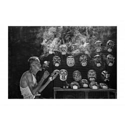Soon Seng Leong - painter mask - Malaysia_ph_bw_repo