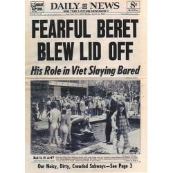 Yayoi Kusama - Daily News august 1969_pa_pmas_bw