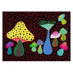 Yayoi Kusama - Mushrooms 2005