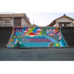Yoh Nagao_Mural in Minami Ise town in Mie Japan_pa_stre
