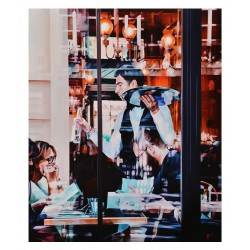 Yi Ge - Parisian restaurant waiter_pa