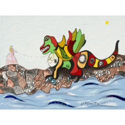 Niki de SAINT PHALLE - Strenght Cart No 11 - dragon - 1998_sc_enfa