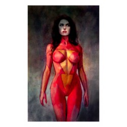 Alex Maleev - poster Spider Woman - Marvel Comics_di