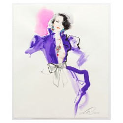 David Downton - Love YSL Couture 1984_di_fash