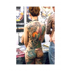 Tattoo - back woman - World Tattoo fair Paris 2019