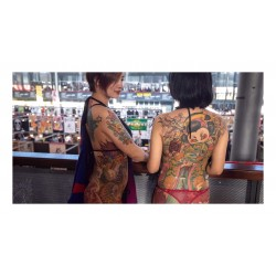 Tattoo - women - World Tattoo fair Paris 2019