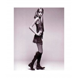 Twiggy - miniskirt from fashion designer Mary Quant - 20cm above the knees_au_topm_fash_vint_bw