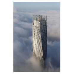 Victor Romeo - RUNNER UP - Cayan Tower by SOM architects