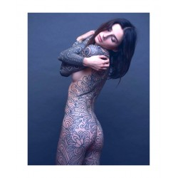 Tattoo - Noemie Doragon - model