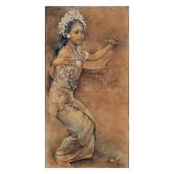 Willem Gerard Hofker  - Le Gong Kebyar dance - Bali 1945_pa_clas