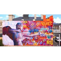 PichiAvo - Cupidon - Port Adelaide- Australia