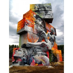 PichiAvo - North West Walls Street Art Festival -...