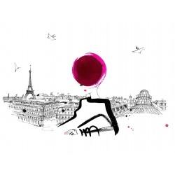 Lovisa Burfitt - Galeries Lafayette Mlle allongee Paris_di_fash_lovisaburfitt.fr